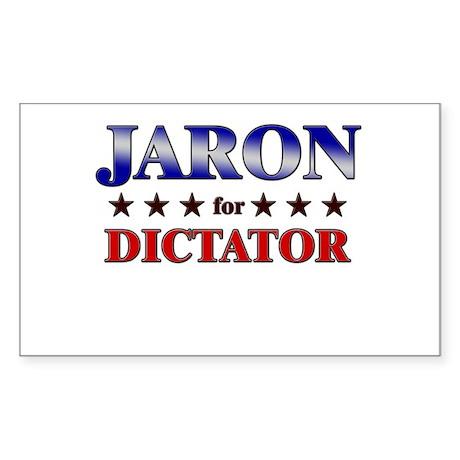 JARON for dictator Rectangle Sticker
