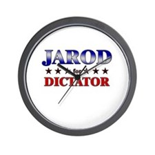 JAROD for dictator Wall Clock