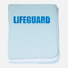 Lifeguard baby blanket