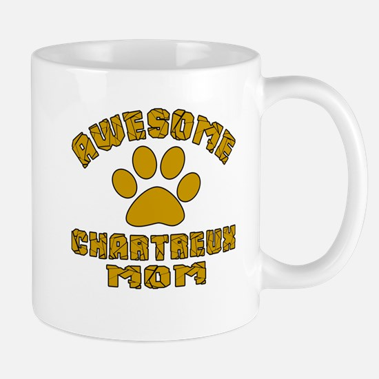 Awesome Chartreux Mom Designs Mug