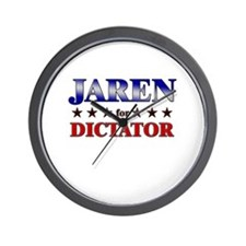 JAREN for dictator Wall Clock
