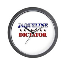 JAQUELINE for dictator Wall Clock