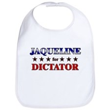 JAQUELINE for dictator Bib