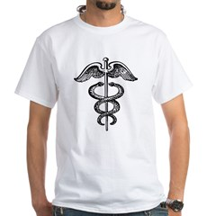 Asclepius Staff - Medical Symbol Shirt