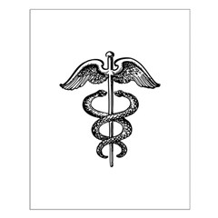 Asclepius Staff - Medical Symbol Posters
