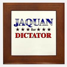 JAQUAN for dictator Framed Tile