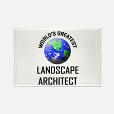 World's Greatest LANDSCAPE ARCHITECT Rectangle Mag