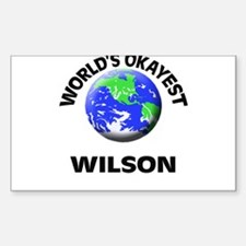 World's Okayest Wilson Decal