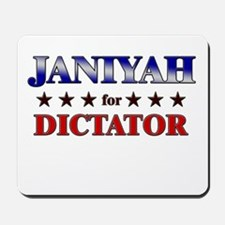 JANIYAH for dictator Mousepad