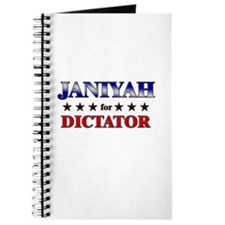JANIYAH for dictator Journal