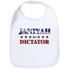 JANIYAH for dictator Bib