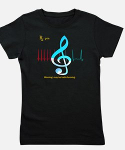 Cool Music therapy Girl's Tee