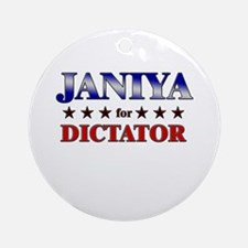 JANIYA for dictator Ornament (Round)