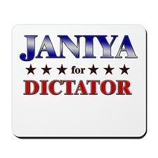 JANIYA for dictator Mousepad