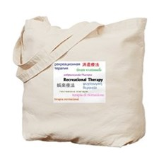 RT in Many Languages Tote Bag