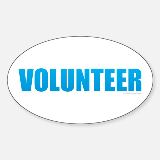 Volunteer Decal