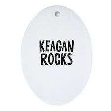Keagan Rocks Oval Ornament