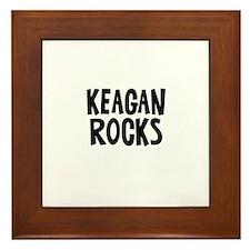 Keagan Rocks Framed Tile