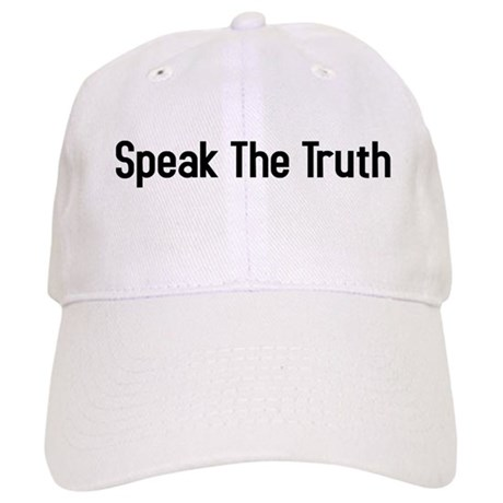 speak the truth Cap