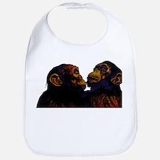 Monkeys Design Bib