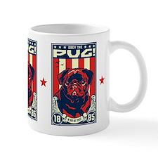 Obey the Black Pug! propaganda Mug