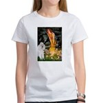 Fairies / Std Poodle(w) Women's T-Shirt