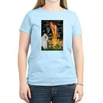 Fairies / Std Poodle(w) Women's Light T-Shirt