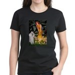 Fairies / Std Poodle(w) Women's Dark T-Shirt