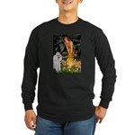 Fairies / Std Poodle(w) Long Sleeve Dark T-Shirt
