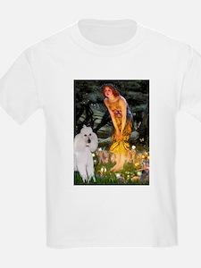 Fairies / Std Poodle(w) T-Shirt
