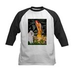 Fairies / Std Poodle(w) Kids Baseball Jersey
