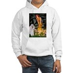 Fairies / Std Poodle(w) Hooded Sweatshirt