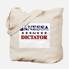 JANESSA for dictator Tote Bag