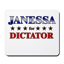 JANESSA for dictator Mousepad