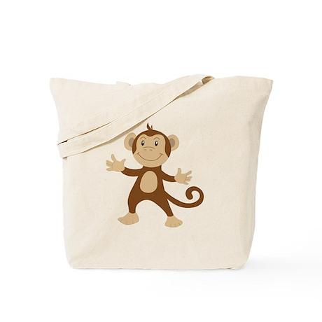 Monkey Tote Bag