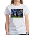 Starry / Std Poodle(bl) Women's T-Shirt