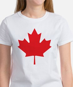 Canadian Maple Leaf Women's T-Shirt