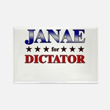JANAE for dictator Rectangle Magnet