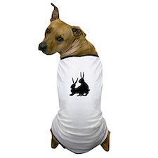 Pair of Rabbits Dog T-Shirt