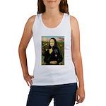 Mona / Std Poodle (bl) Women's Tank Top