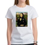 Mona / Std Poodle (bl) Women's T-Shirt