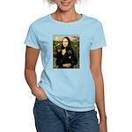Mona / Std Poodle (bl) Women's Light T-Shirt