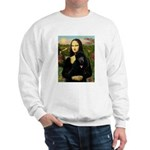 Mona / Std Poodle (bl) Sweatshirt