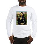 Mona / Std Poodle (bl) Long Sleeve T-Shirt