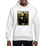 Mona / Std Poodle (bl) Hooded Sweatshirt