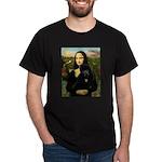 Mona / Std Poodle (bl) Dark T-Shirt