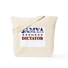JAMYA for dictator Tote Bag