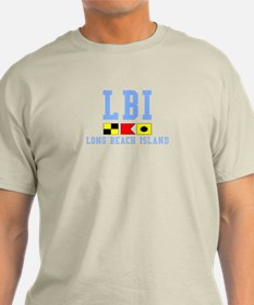 Long Beach Island - Light Blue T-Shirt