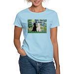 Bridge / Std Poodle (pr) Women's Light T-Shirt