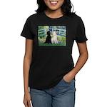 Bridge / Std Poodle (pr) Women's Dark T-Shirt